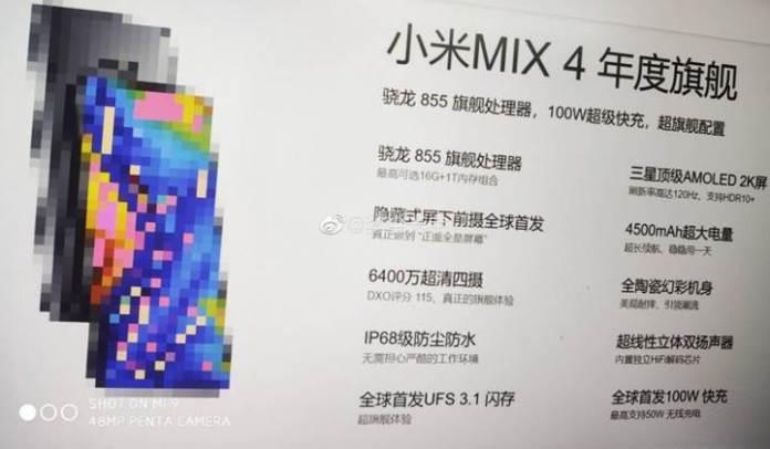Şimdiye kadarki en iyi Android telefon geliyor: Xiaomi Mi Mix 4