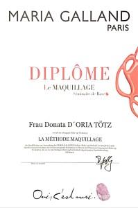 La Methode Maquillage Diplom