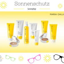 Maria Galland Sonnenschutzprodukte