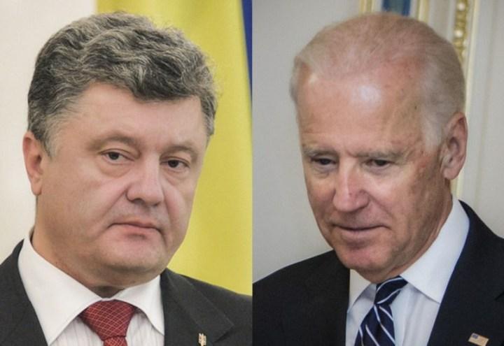 Porochenko - Biden