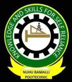 Nuhu Bamalli Polytechnic (NUBAPOLY) Acceptance Fee for 2020/2021 1