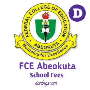Fce abeokuta school fees