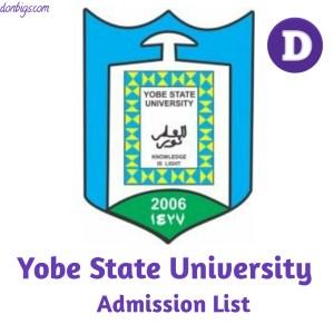 YSU-admission-List