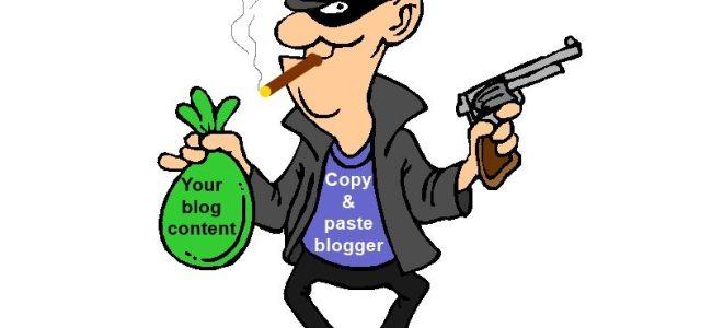 report content thief