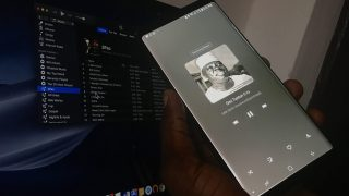 samsung galaxy note 9 music player