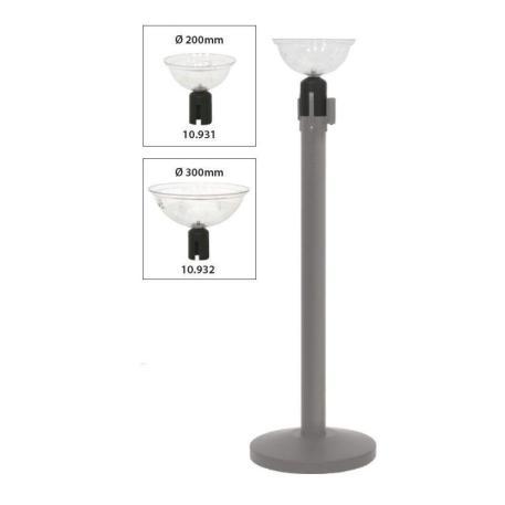 Dispensador para poste separador en dos tamaños