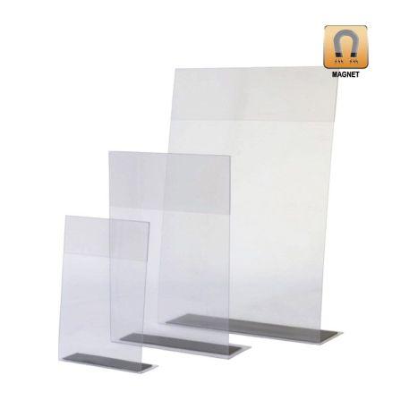 Porta Gráficas PVC con Imán doble