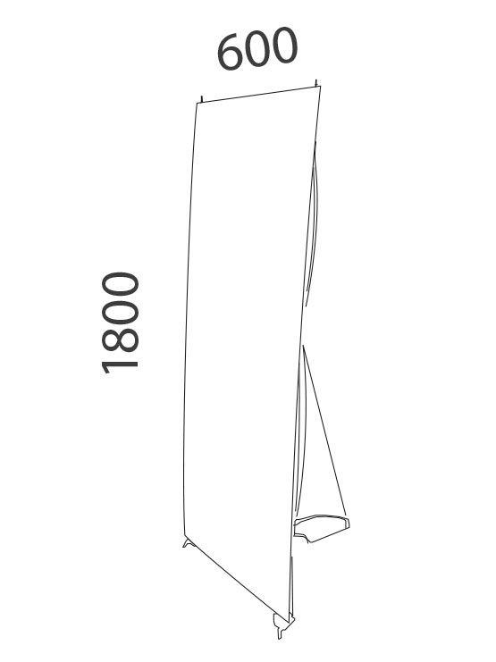 Banner para exterior medidas