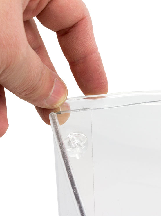 Cubo dispensador detalle 1