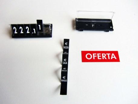PortaPrecio Cassette Mini con Base imagen 4