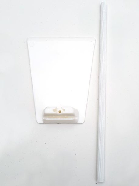 Peana para Carteles con Pincho de Acero piezas
