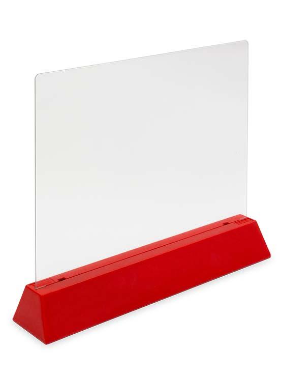 Separador Próximo Cliente ejemplo rojo