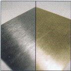 material aluminio oro plata