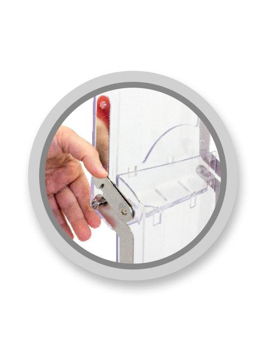 Porta Folletos Portátil plegable imagen 3