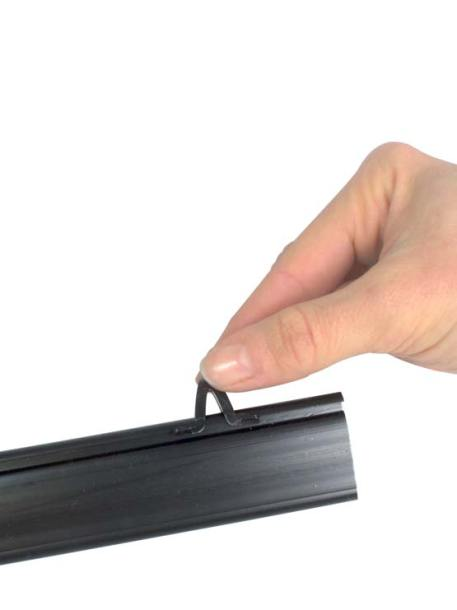 Porta Cartel modelo StrongClip detalles