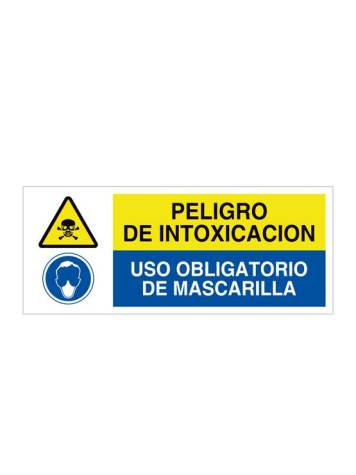 Peligro de intoxicación y uso obligatorio