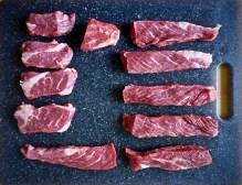 Chuck Flap Steak cut's