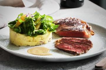 US Roastbeef mit Pancetta Kartoffeln