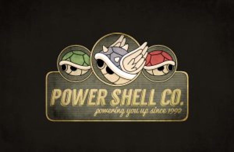 power shell mario kart illustration