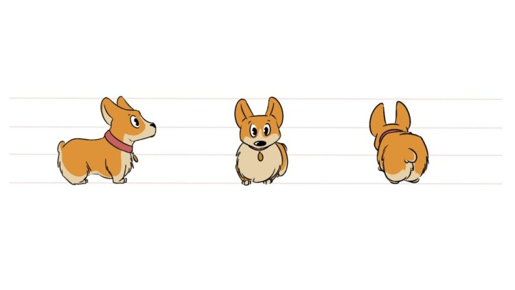 How to Draw a Dog: Draw a Corgi Stepy by Step