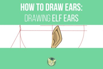 How to Draw Step by Step, Learn to Draw Elf Ears - Don Corgi