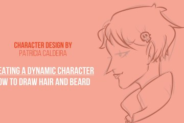 How to Draw Step by Step - Master Drawing Hair and Beard with Don Corgi, Create a Dynamic Character!