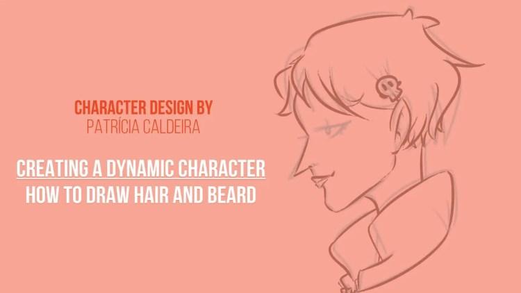 Master Drawing Hair and Beard with Don Corgi, Create a Dynamic Character!