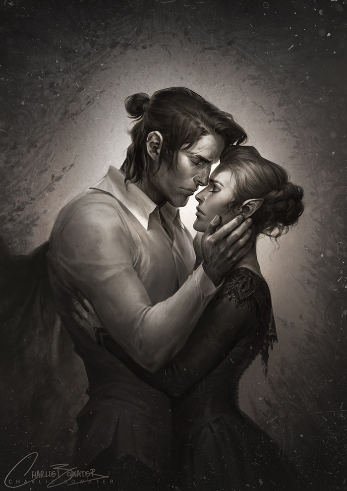 Cassian Nesta by Charlie Bowater on Deviantart, Inspirational Artist - Don Corgi