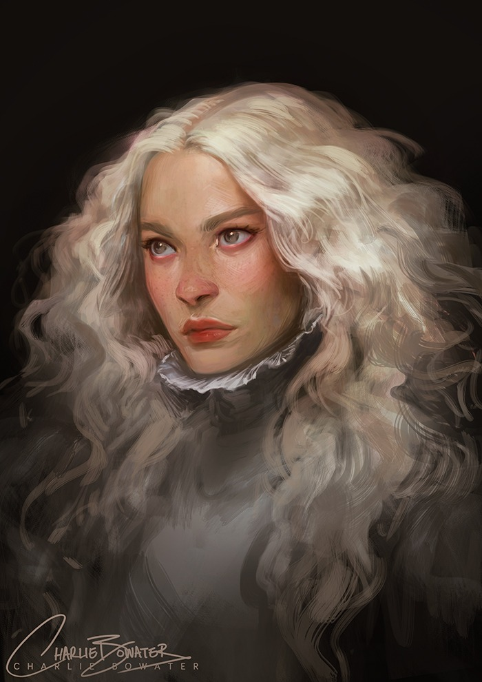 Crimson Peak by Charlie Bowater on Deviantart, Inspirational Artist - Don Corgi