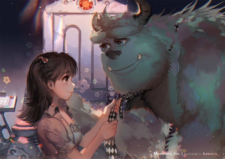 Going Home by Kawacy on Deviantart, Inspirational Artist - Don Corgi