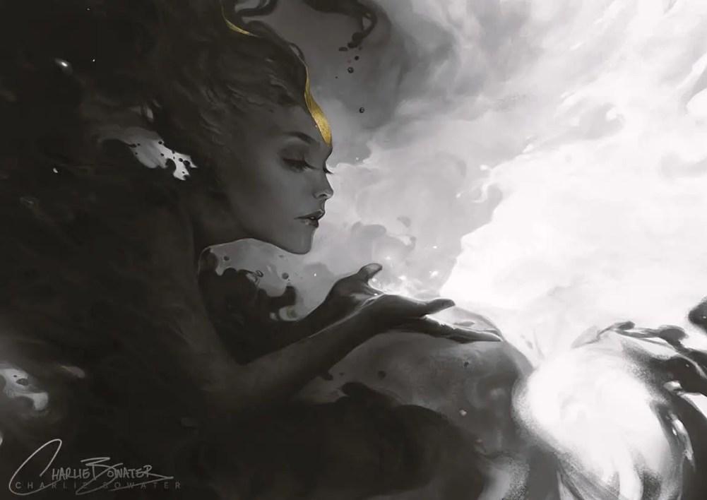 Phosphorescent by Charlie Bowater on Deviantart, Inspirational Artist - Don Corgi