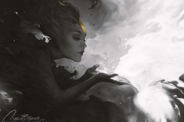 Phosphorescent by Charlie Bowater on Deviantart, Inspirational Artist - Don Corgi
