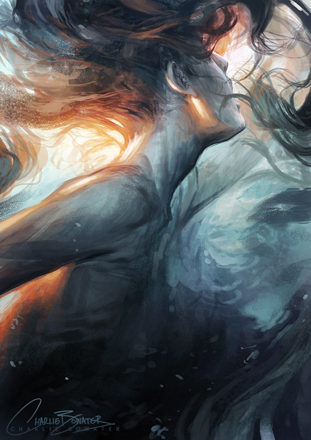 Submerge by Charlie Bowater on Deviantart, Inspirational Artist - Don Corgi