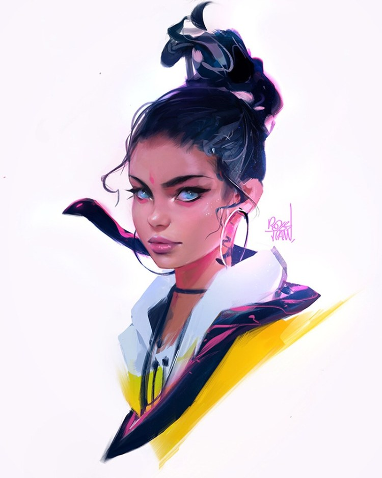 untitled character by Ross Tran aka Ross Draws on Deviantart - Don Corgi Inspirational Tuesday