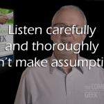 listening for IT customer service