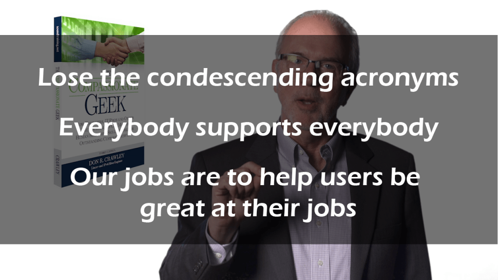condescension karma and IT customer service