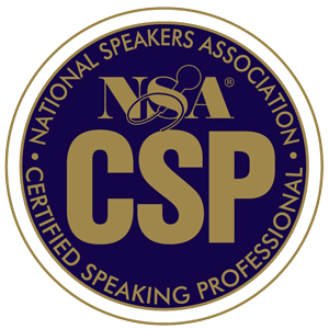 National Speakers Association Certified Speaking Professional