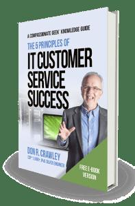 IT customer service book