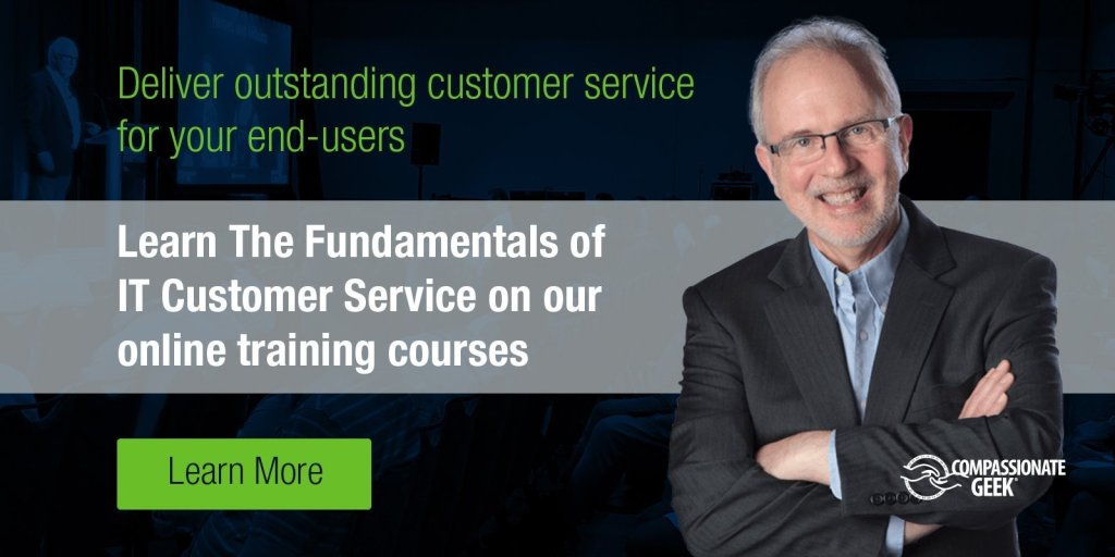 The Fundamentals of IT Customer Service CTA