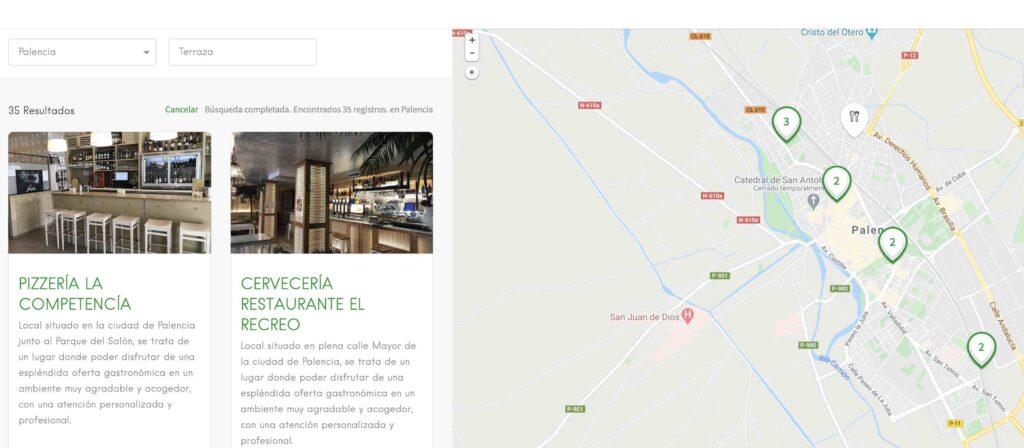 Dónde comer en Palencia ciudad terrazas
