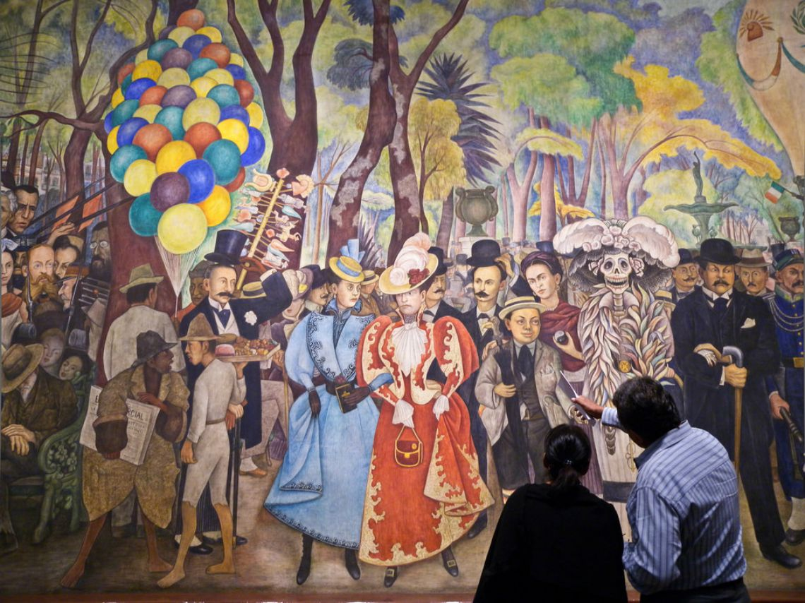 Museo mural diego rivera re visiones de norteam rica for Diego rivera mural 1929