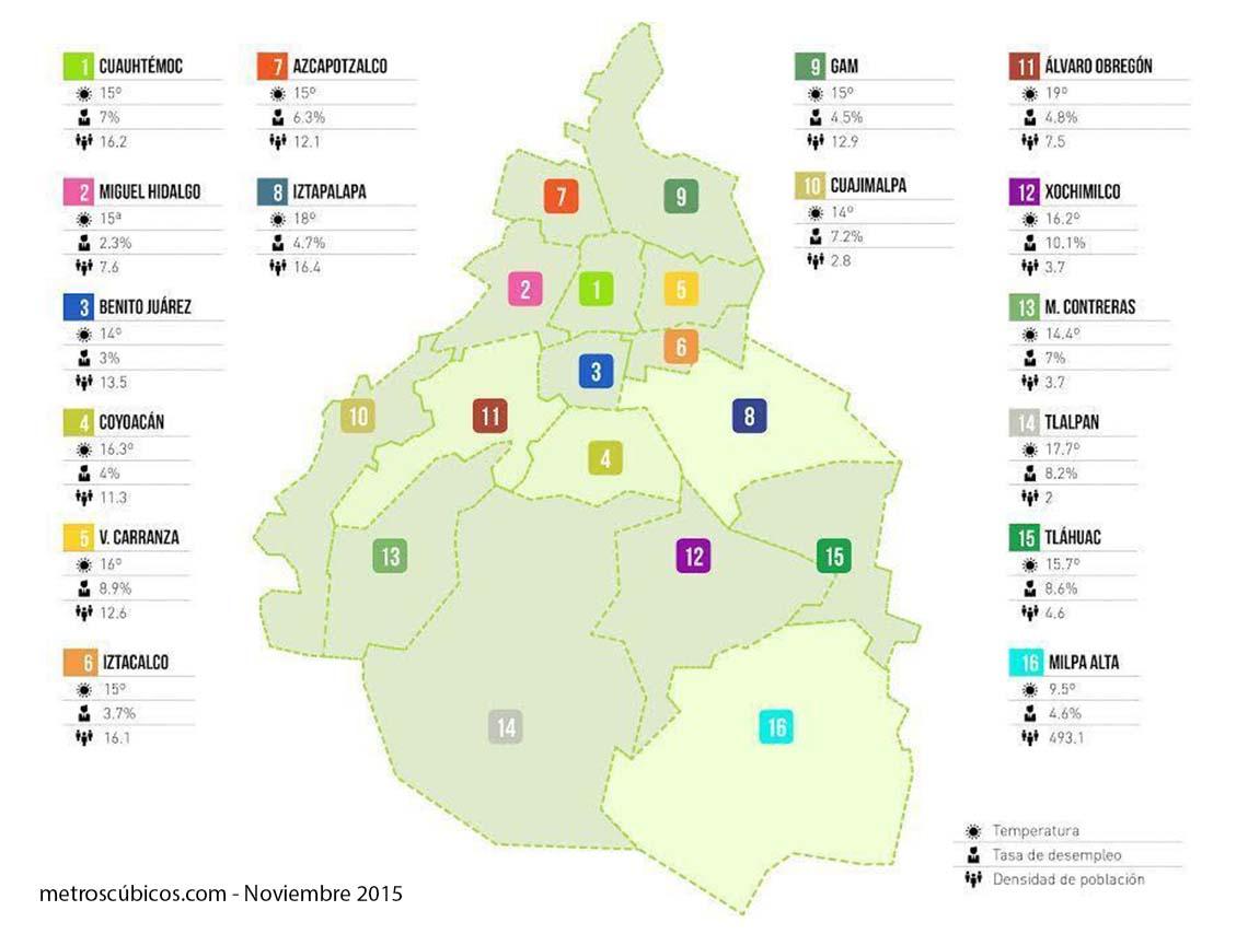 Las Mejores Delegaciones Para Vivir En La Ciudad De M Xico