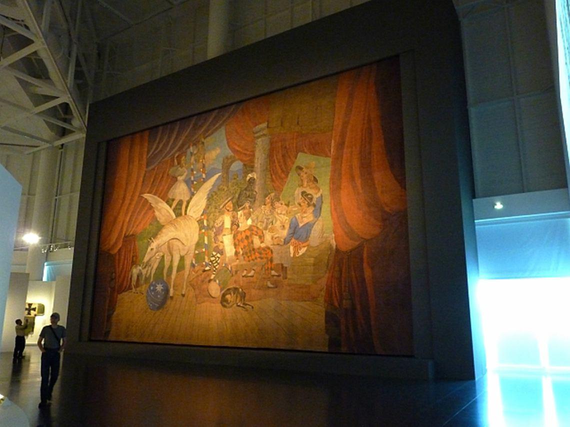 Picasso y Rivera en el Palacio de Bellas Artes