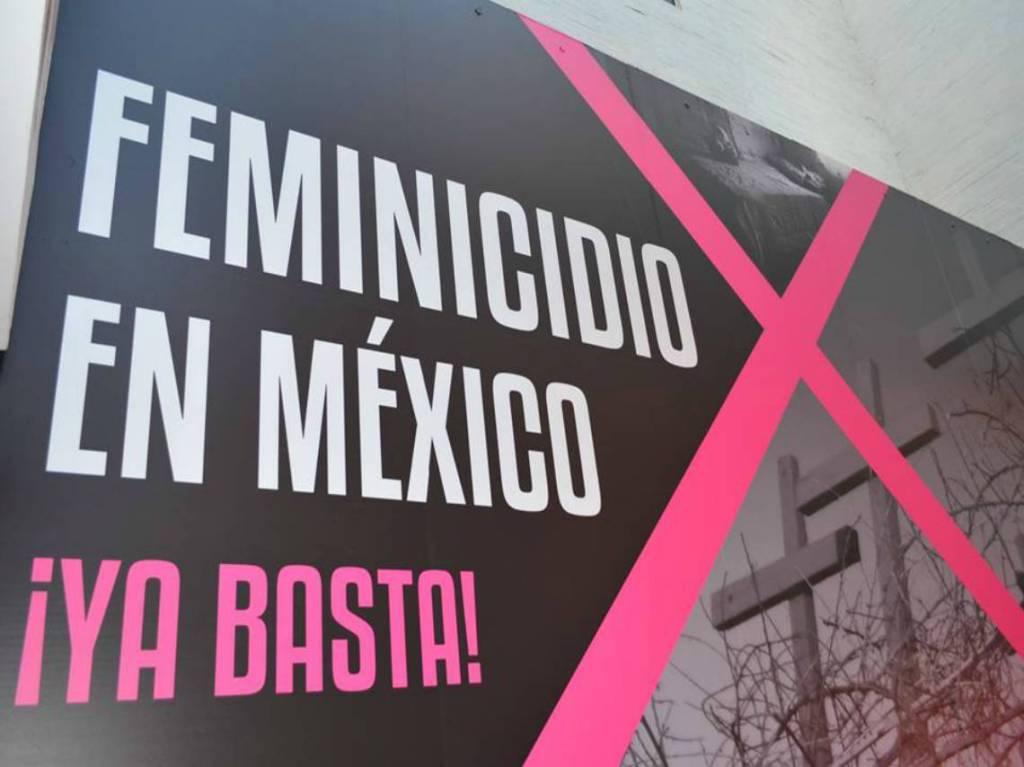 Exposición Feminicidio en México