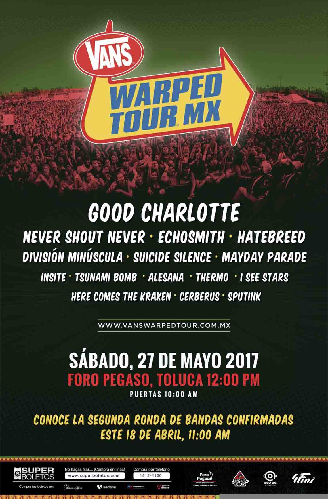 Warped tour 2017 dates
