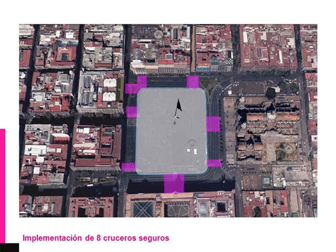 Remodelación del Zócalo 2017