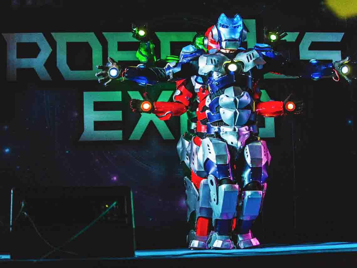 Resultado de imagen para expo robots y tecnologia