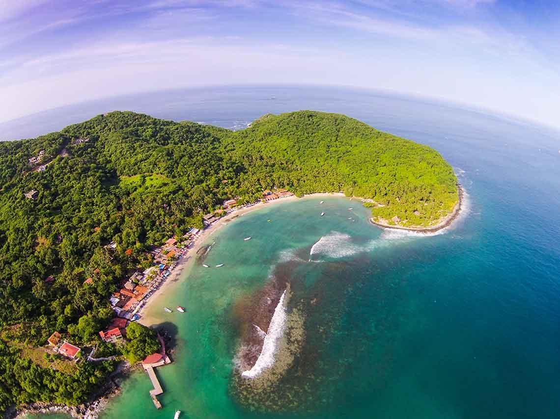 Isla Grande en Ixtapa