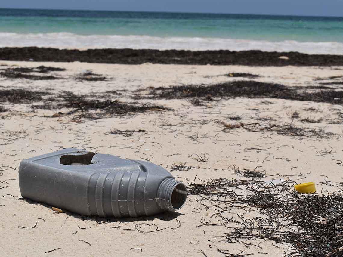 Resultado de imagen para playas mexicanas llenas de plastico