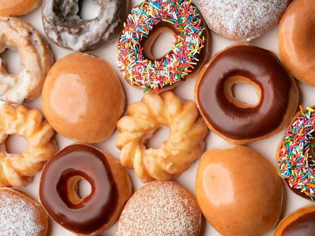 donas gratis de Krispy Kreme